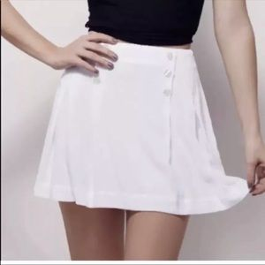 NWT free people white skirt size 10